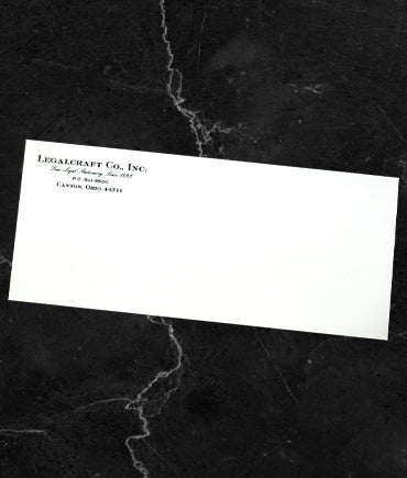 Legalcraft Bond - Envelopes Engraved - Wove Finish