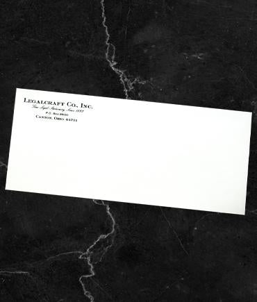 Legalcraft Bond - Envelopes Engraved - Laid Finish