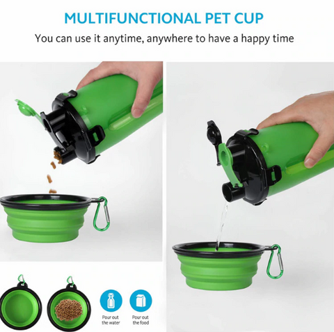 2 in 1 Bottle Pet Feeder