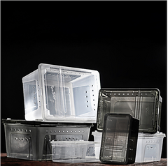 Transparent Stackable Breeder Box - Animax Pet Shop