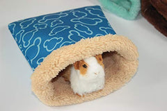Warm Plush Hamster Bed House