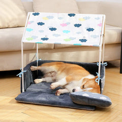 Washable Home Shape Dog Bed - Animax Pet Shop
