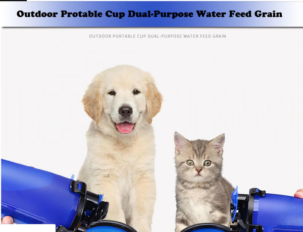 Pet Water and Food Bottle - Animax Pet Shop