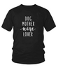 Image of Dog Mother Wine Lover T-Shirt - Animax Pet Shop