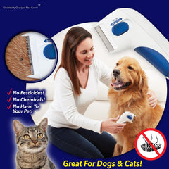 Electric Flea Comb For Pets - Animax Pet Shop
