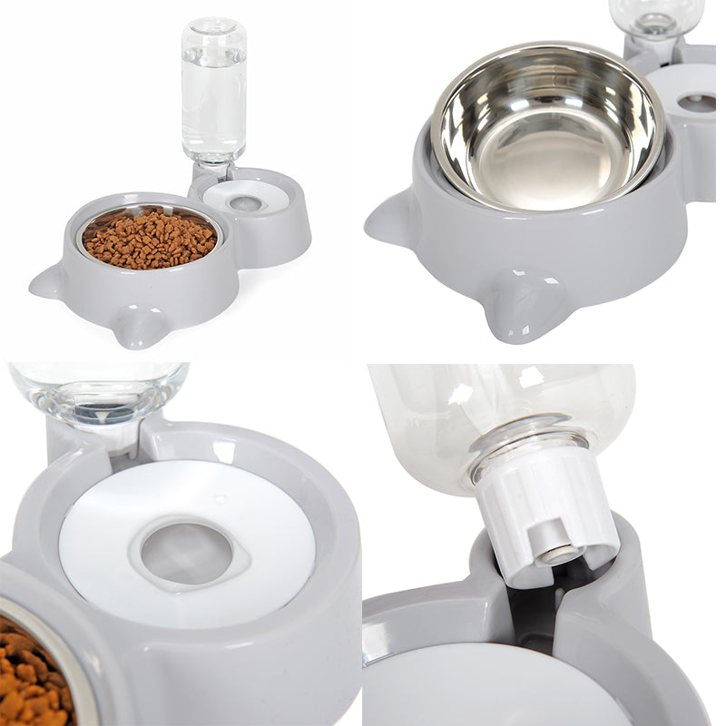 Pets Water and Food Set - Animax Pet Shop