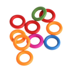 Colorful Wood Rings Parrot Toys (Buy 1 take 3)