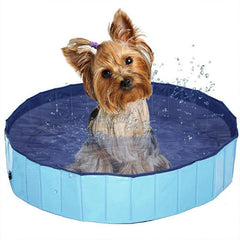 Image of Foldable Dog Swimming Pool