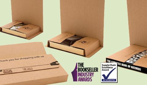 variable height packaging and postal wraps for books, picture frames and media