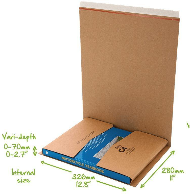 C4 Bukwrap Book Packaging
