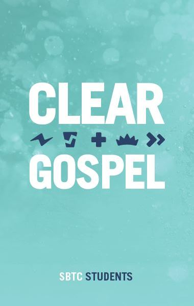 Clear Gospel Tract (50/pkg)