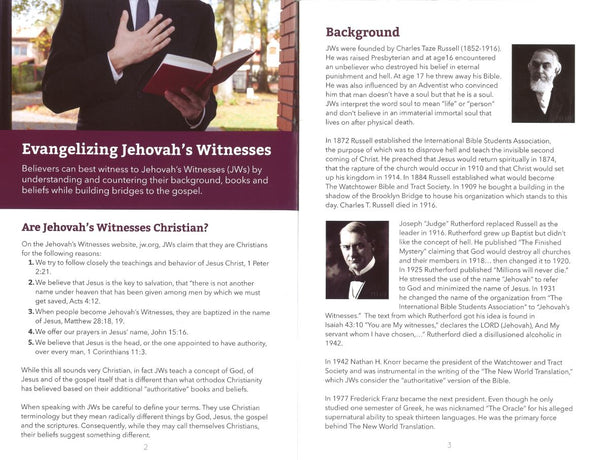 Witnessing to the Witnesses (25/pkg)