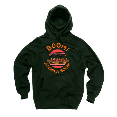 Hoodie BOOM! A-tchica boom! unisexe - tamelo boutique