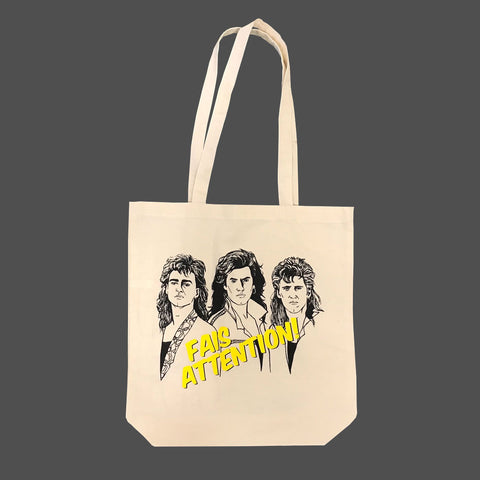 Tote bag Fais attention - tamelo boutique