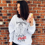 Sometimes a glass of wine may help (crewneck) - tamelo boutique