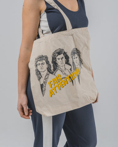 Tote bag Fais attention