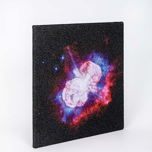 Deep Space Journey - Set of 8 embroidered canvases