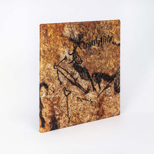 Lascaux-Chauvet – Set of 8 embroidered canvases