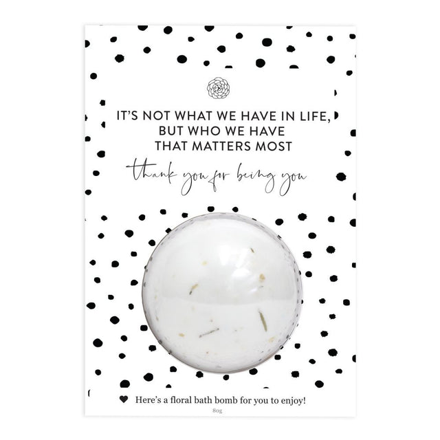 Bath Bomb Gift Card - Being You