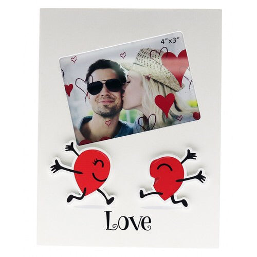 Love Happy Hearts 4x3 Frame