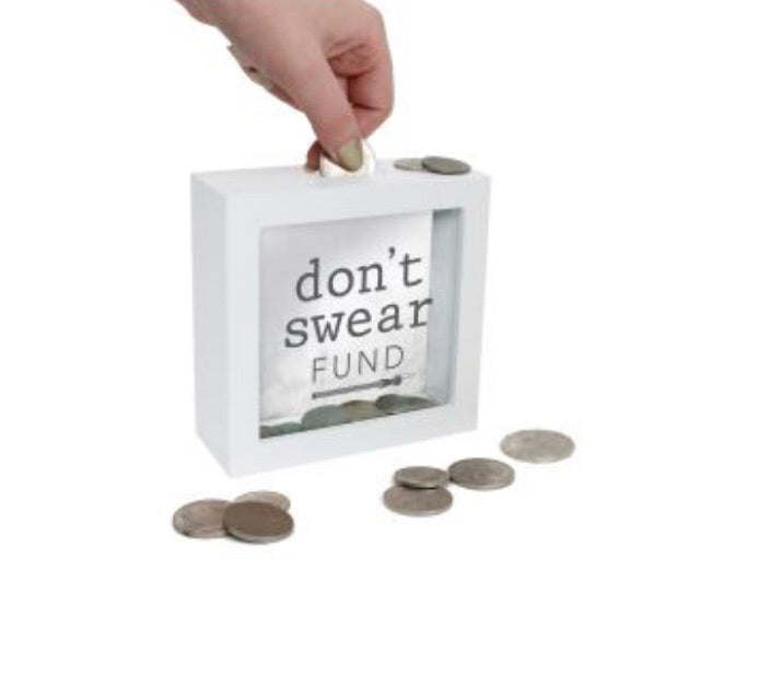 Don't Swear Fund - Mini Change Box