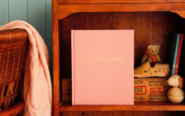 Raising You: Letters to My Baby - Pink