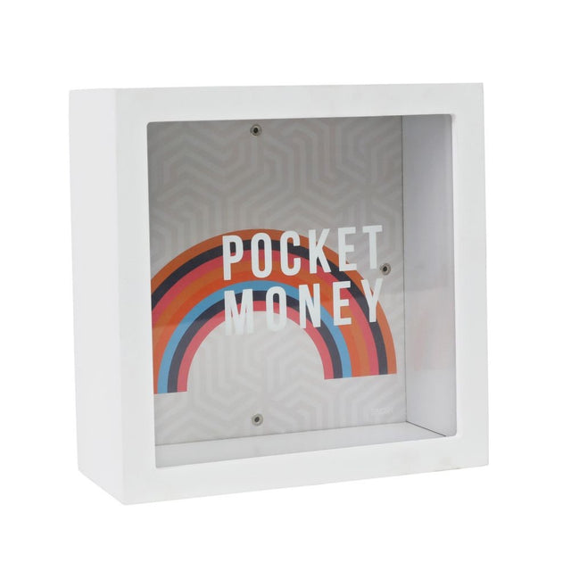 Bright and Bold Pocket Money Change Box