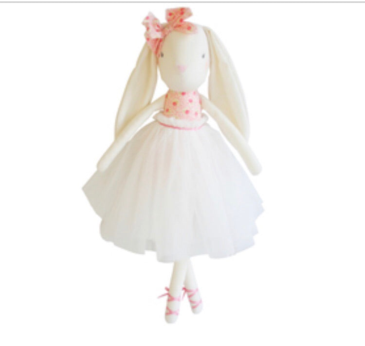 Bronte Ballet Bunny - 48cms Pink & Ivory