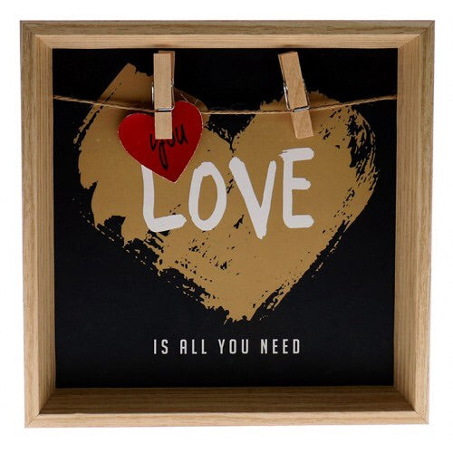 Love Is All You Need Shadow Box