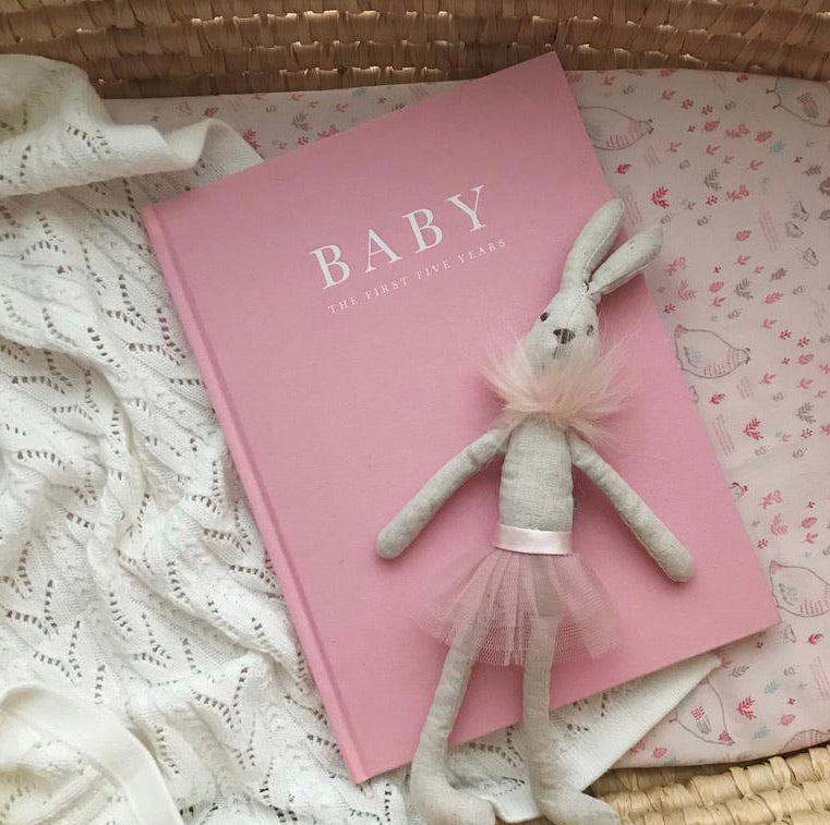 Baby Journal - Birth to Five Years - PINK