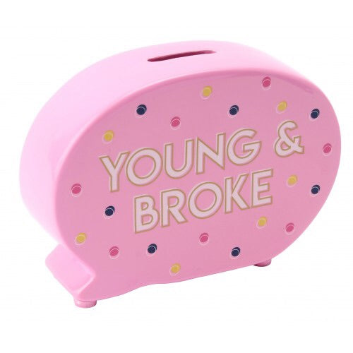 Sweet Tooth Young and Broke Money Bank