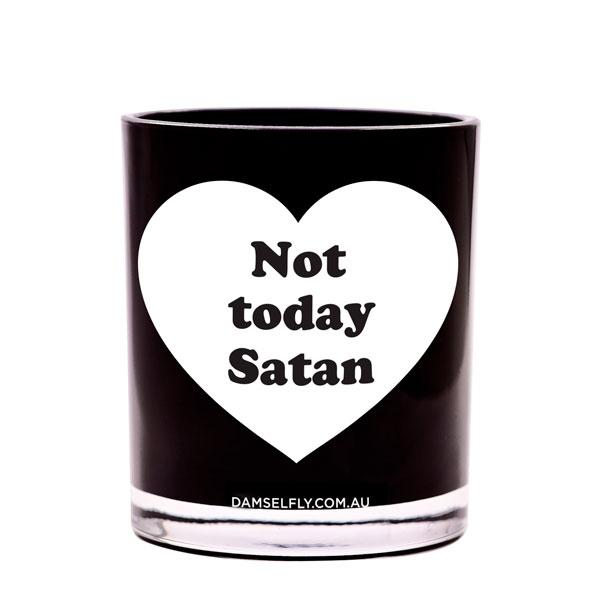 Not Today Satan - XL Candle
