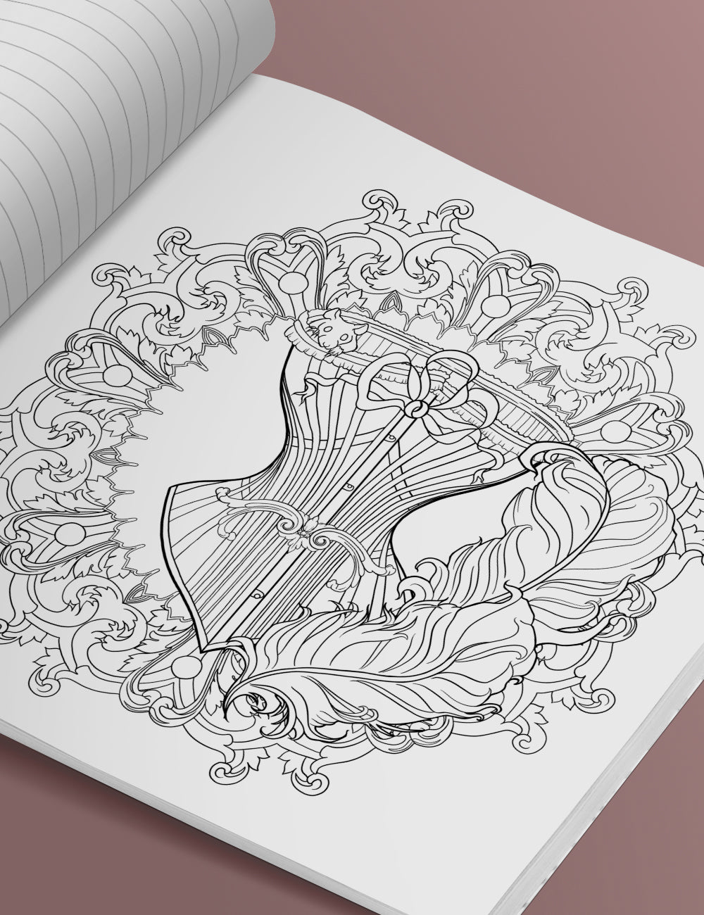 The Asylum Coloring Book Volume 1: Mandalas
