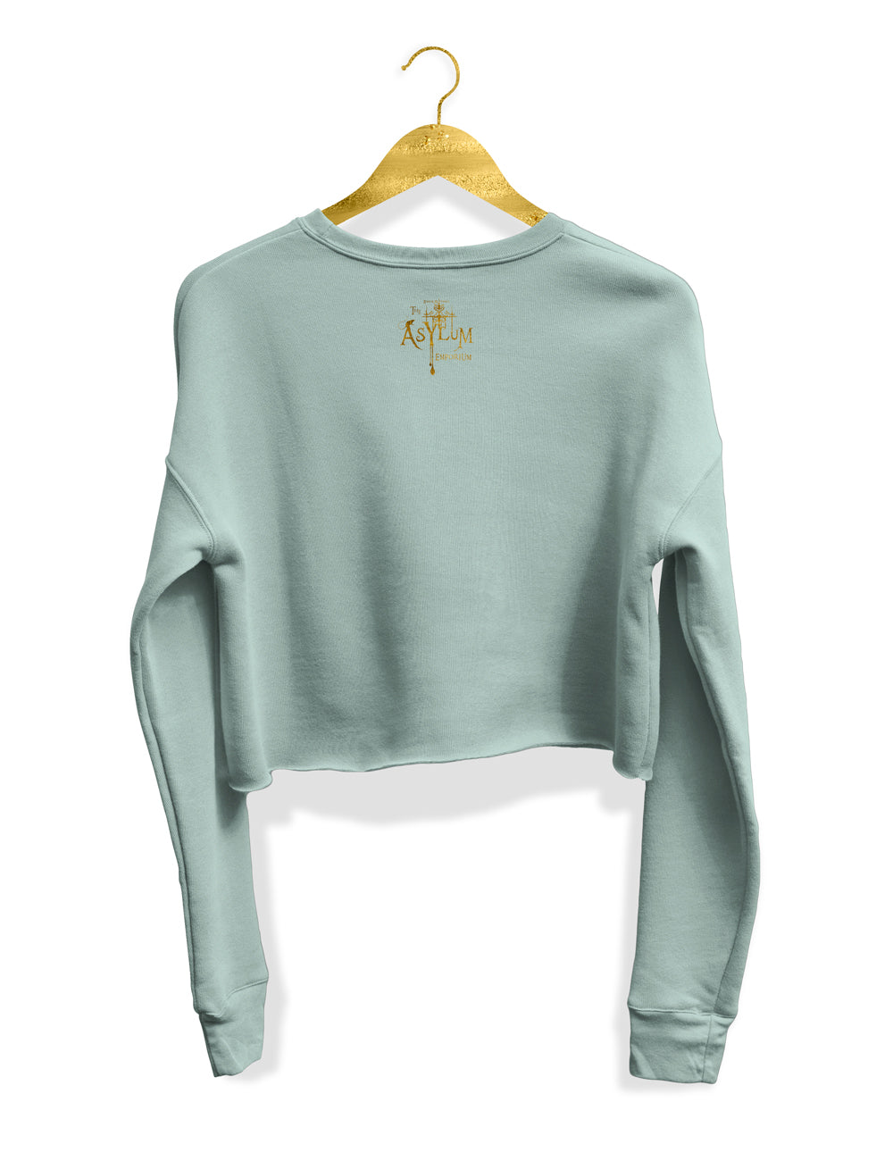 Royal Garden Cropped Sweatshirt - The Asylum Emporium