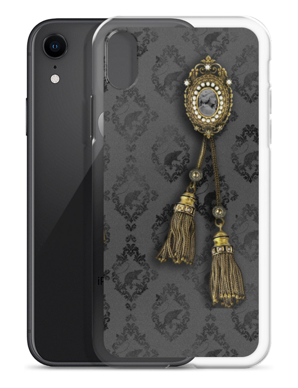 Asylum Portrait Gallery Noir Edition iPhone Case | The Asylum Emporium