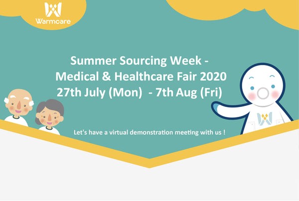 LET'S HAVE A VIRTUAL DEMONSTRATION MEETING - MEDICAL & HEALTHCARE FAIR 2020!