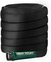 Load image into Gallery viewer, GREEN MOUNT Heavy Duty Garden Hose 50ft, Lightweight Water Hose with 5/8 Inch Fittings