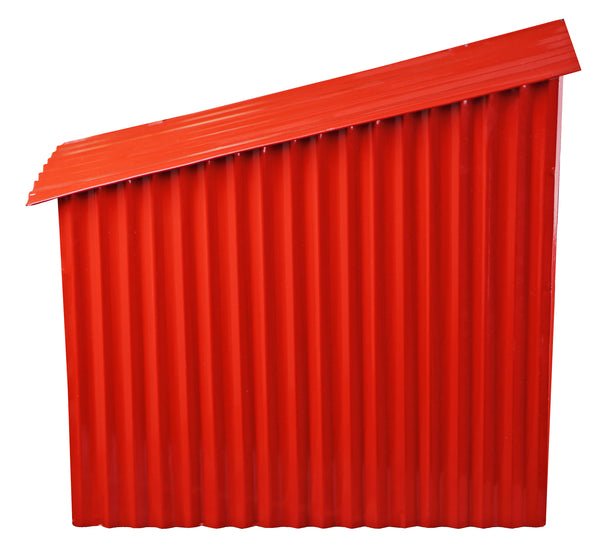 Farm Shed Mailbox Red - iDekor8