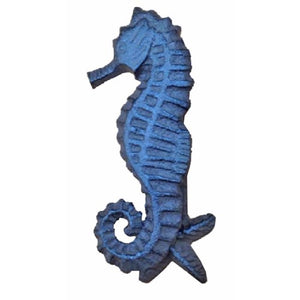 Seahorse Door Knocker Blue