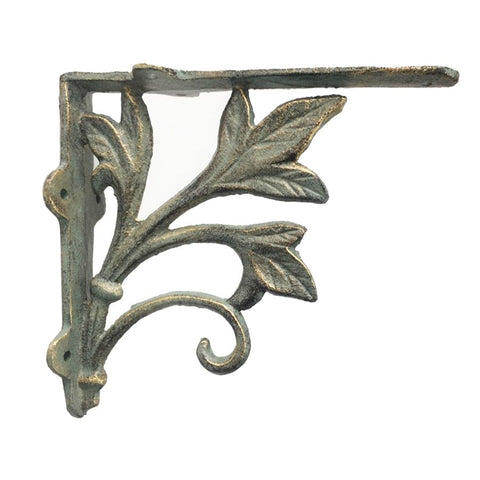 3 Leaf Bracket, Verdigris
