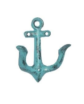 Anchor Hook Antique Turqoise - iDekor8