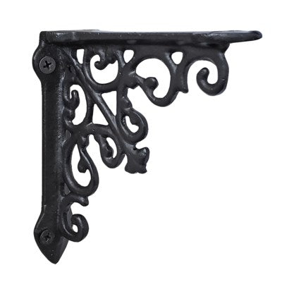 Victorian Shelf Bracket, Black - iDekor8