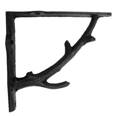 Branch Bracket  Black - My Country Home and Garden