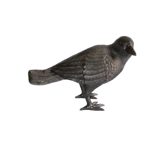 Autumn Crow, head to side 11x4x6.5inch - My Country Home and Garden