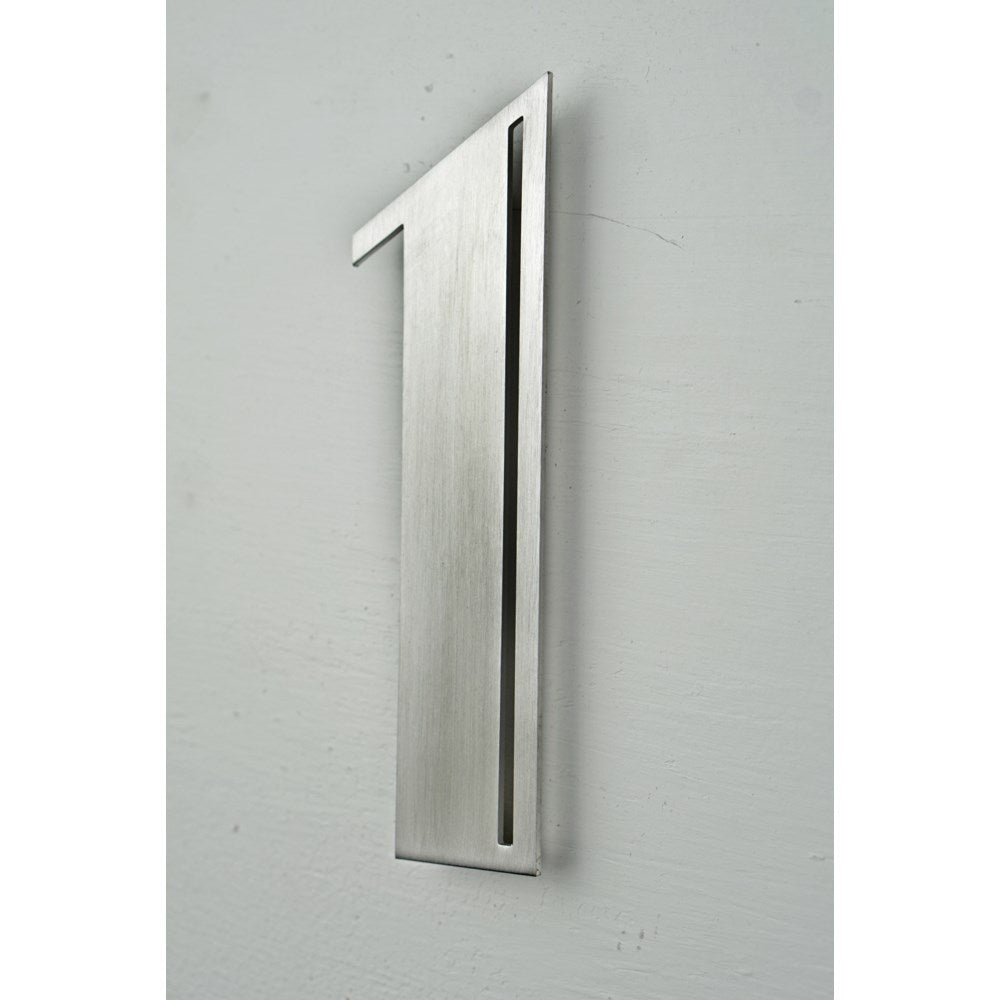 Stainless Steel Deco Number-1 - My Country Home and Garden