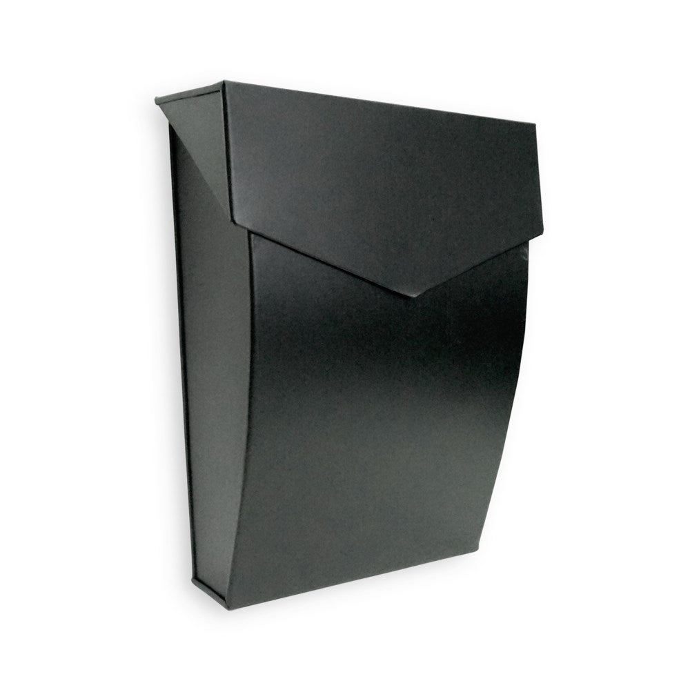 Bradly Steel Mailbox Black