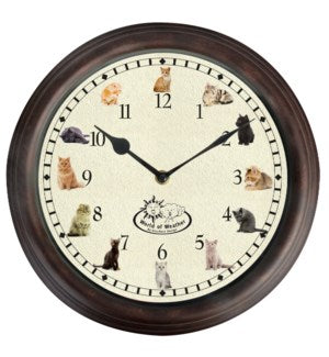 Cat Clock w/ Sounds