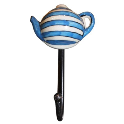 Ceramic Teapot Hook - My Country Home and Garden