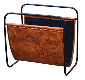 Leather Magazine Holder - iDekor8