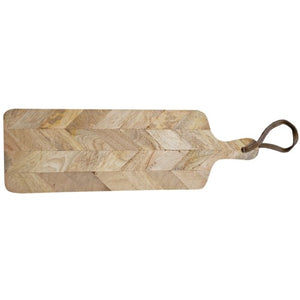 Chevron Cutting Board Large